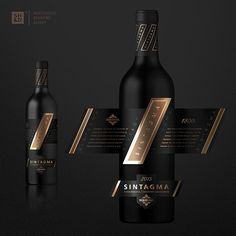Packaging Design for Sintagma Premium Wine
