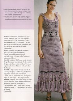 dress (from Party Crochet)