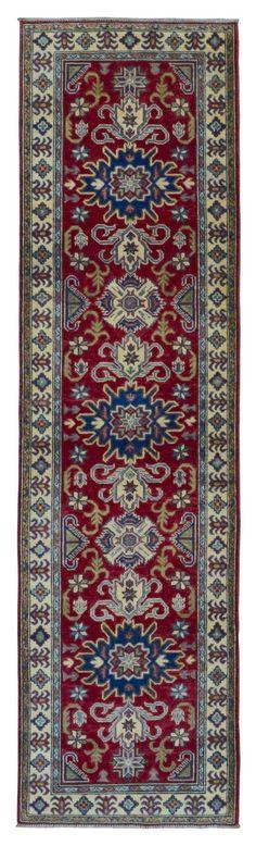 Pakistan Kazak Oriental Runner Rug 2'7X9'9