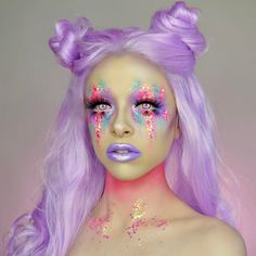 "24.6k Likes, 239 Comments - KIMBERLEYMARGARITACOLOURCREEP (@kimberleymargarita_) on Instagram: ""Pastel unicorn princess This look will be up on my YouTube channel tomorrow, make sure to…"""