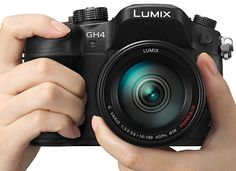 Coming Soon! Introducing the Panasonic Lumix GH4, the first Four Thirds still camera to capture 4K video!