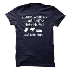 I Love Coffee And Making Movies T Shirt, Hoodie, Sweatshirts - shirt dress #teeshirt #Tshirt