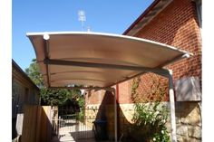 Cantilevered Carport Awning