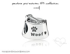 Pandora Woof charm from the Pre-Autumn 2015 collection!