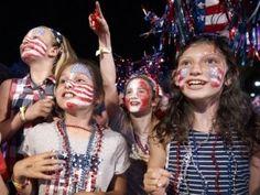 EEUU celebra su Independencia con desfiles y fuegos artificiales