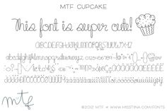 This is one of my favorite fonts, even I don't usually use it, but it's cute as a button!