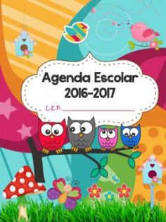 AGENDA ESCOLAR 2016 2017 BÚHOS (1)