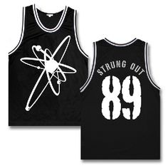 Strung Out - Astrolux Basketball Jersey