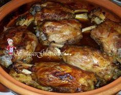 Μελωμένο Χοιρινό Κότσι | Pork, Food And Drink, Cooking Recipes, Meat, Chicken, Yum Yum, Kale Stir Fry, Chef Recipes