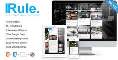 Rule - Retina Responsive WordPress Theme