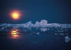 The Moon in Antarctica