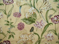 1000 Images About Botanical Fabric On Pinterest
