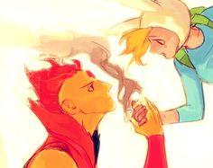 Fionna and Flame Prince