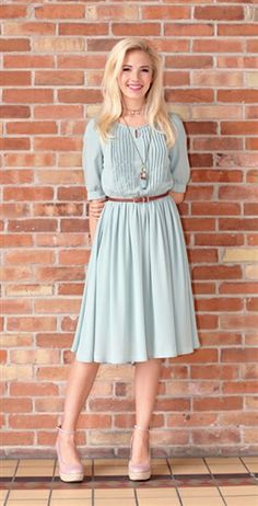 The Clara by Mikarose Spring 2014 Collection | Affordable Modest Dresses | Trendy Modest Clothing