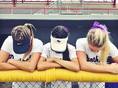 softball hair If you are trying to find hairstyles that will cause you to comfortable Softball Hair Braids, Athletic Hairstyles, Volleyball Hairstyles, Sporty Hairstyles, Braided Bun Hairstyles, Braided Ponytail, Cute Hairstyles, Braided Buns, Princess Hairstyles