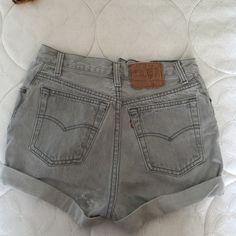 High waisted vintage Levi shorts Worn once, very cute and in great condition Levi's Shorts Jean Shorts