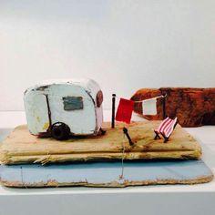 Kirsty Elson designs - caravan