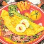 Praktická Kuchařka: Houbová omeleta