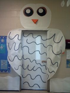 My favorite door so far! Snow Owl