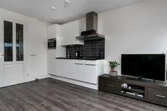 Kleine keuken. Ideaal voor een appartement of studio.