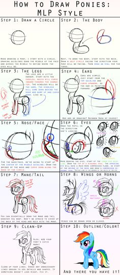 How+to+Draw+Ponies:+MLP+Style+by+steffy-beff.deviantart.com+on+@deviantART