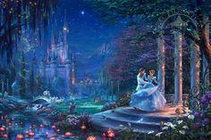 Cinderella Dancing in the Starlight | The Thomas Kinkade Company