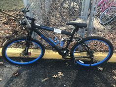 A men's Genesis black mountain bike was recovered from Glover Lane on Black Mountain Bike, Mountain Biking, Police, Bicycle, Bicycle Kick, Bicycles, Law Enforcement, Bmx, Bike