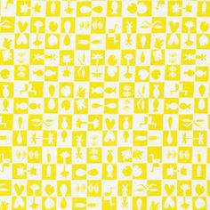 137708 Reflection | Yellow from Water Land by @jn_patterns for Cloud9 Fabrics