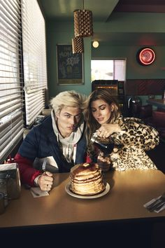 Lucky Blue Smith and Hailey Baldwin for Tommy Hilfiger