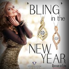 New Year, New Bling! Beautiful jewelry by Rhythm of Love