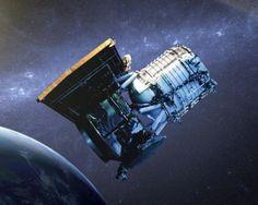 Artist's concept of WISE, via NASA