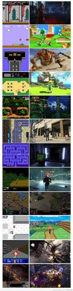 Games - Then and Now - http://2nerd.com/video-games-2/games-3/