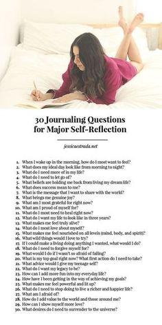 Want to get heal, grow, expand, get to know yourself on a deeper level, and manifest your biggest dreams? Try these 30 journaling questions for major self-reflection. Plus, check out the blog for 11 creative ways you can use your journal!