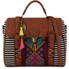 ALDO Burum ($50) ❤ liked on Polyvore featuring bags, handbags, bright multi, cotton handbags, aldo purses, accessories handbags, zipper purse and sports bag