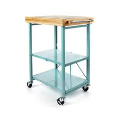 Exceptionnel Origami Folding Kitchen Island Cart With Casters
