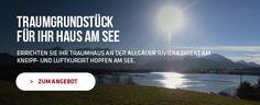 Grundstück in Hopfen am See. Südländisches Flair vor einem einzigartigen Alpenpanorama. #Grundstücke #Immobilien #Allgäu