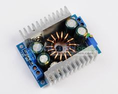 DC-DC 150W Step Up 8V-32V to 9V-46V Power Apply Module High-Power  http://www.icstation.com/product_info.php?products_id=2754