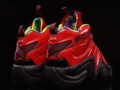 Adidas Crazy 8 VIII Red/Black Mens Basketball Sneakers Shoes C77539 Sz 9 New #adidas #BasketballShoes