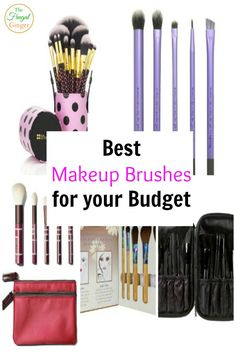 Makeup brushes can get expensive. I found the best makeup brushes for your budget so you can look beautiful and still afford to buy the cosmetics. Best Makeup Brushes, Eye Brushes, Best Makeup Products, Beauty Products, Beauty Tips, Makeup Brands, Beauty Ideas, Beauty Hacks, Make Makeup
