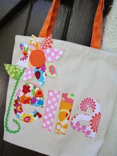 Cute bag Idea.  Might have to make these for the nieces!