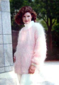 truemohairlover Vintage Knitting, Vintage Wool, Angora Sweater, Knit Fashion, Top Photo, Knitwear, Fur Coat, Sweaters For Women, High Neck Dress