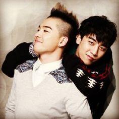 Taeyang and Seungri ♡ #BIGBANG #BaeRi