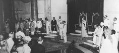 Lord Mountbatten swears in Pandit Jawaharlal Nehru as the first Prime Minister of free India at the ceremony held at AM on August 1947 Happy Independence Day Images, 15 August Independence Day, India Independence, Indian Freedom Fighters, Pakistan, Previous Year Question Paper, Photos For Facebook, British History, This Or That Questions