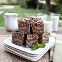 Chocolate Marshmallow Energy Bars