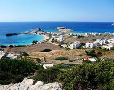 The Village of Lefkos offers beautiful beaches