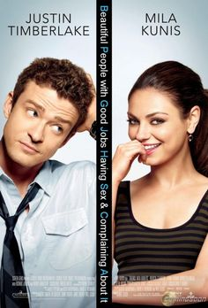 friends with benefits - entertaining movie..