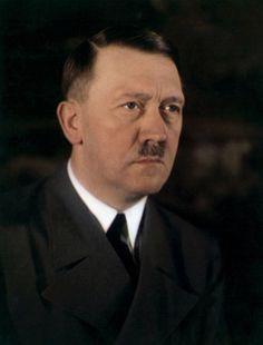 Adolf Hitler en color  Una de las escasas fotografías a color de Adolf Hitler.