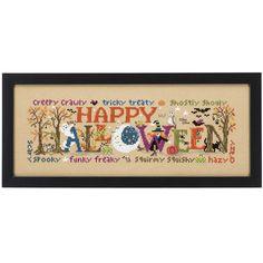 Halloween Happiness - Cross Stitch, Needlepoint, Stitchery, and Embroidery Kits, Projects, and Needlecraft Tools | Stitchery