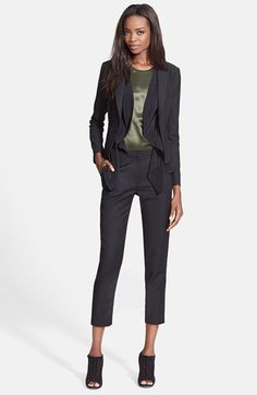 Elizabeth and James 'Glenn' Scarf Inlay Jacket | Nordstrom