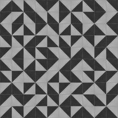 Oblique | Modern Cement Tiles | TESSELLE Decorative Concrete